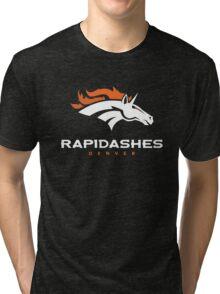 Denver Rapidashes (Blue) Tri-blend T-Shirt