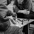 Chess on Union Square, New York City, USA by Sabine Zehetner