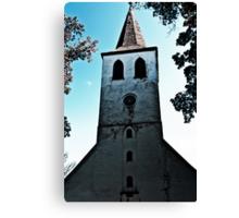 The Church. Canvas Print