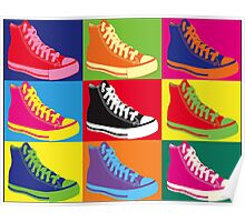 Andy Warhol -Converse- Poster