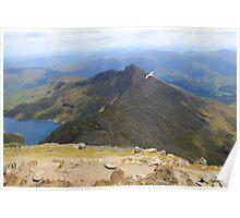 Snowdon summit Poster