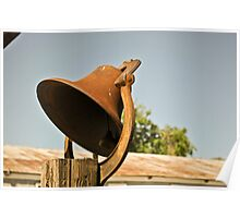 Rusted Ranch Bell Poster