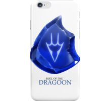 Soul of the Dragoon -white iPhone Case/Skin