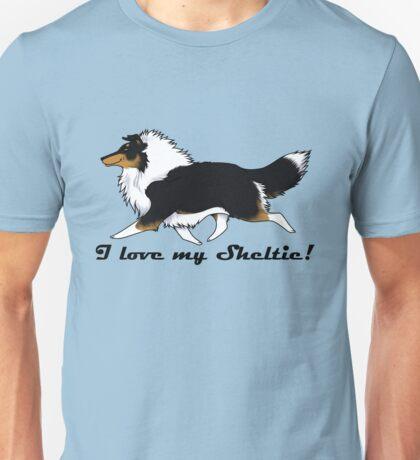 Love your tri-color Sheltie! Unisex T-Shirt