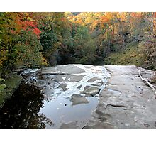 Over The Falls on Tinkers Creek Photographic Print