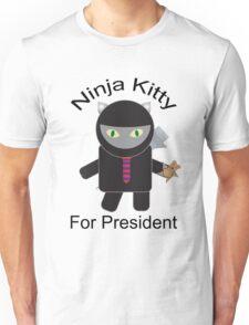 Ninja Kitty for President  T-Shirt