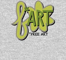 Free + Art = F*ART! Mens V-Neck T-Shirt