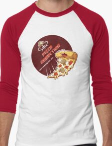 Pizza Abduction Men's Baseball ¾ T-Shirt