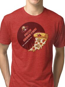 Pizza Abduction Tri-blend T-Shirt