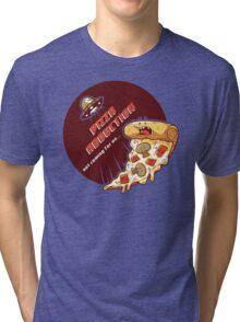 Pizza Abduction Tri-blend T-Shirt