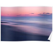 Beach Sunrise Abstract Poster