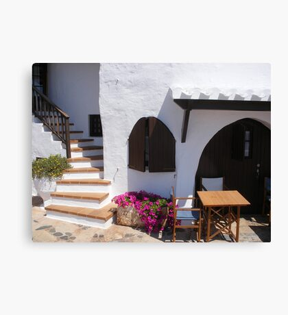 A seat in the heat! Canvas Print