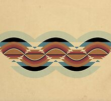 """Navajo Pattern"" Sinusoidal Waveform by Equal-Opposite"