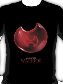 Soul of the Warrior -black T-Shirt