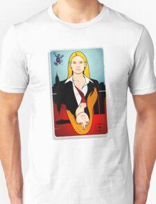 Olivia VS Fauxlivia   Fringe Unisex T-Shirt
