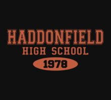 Haddonfield High School by waywardtees