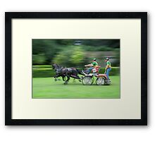 Full speed 2 Framed Print