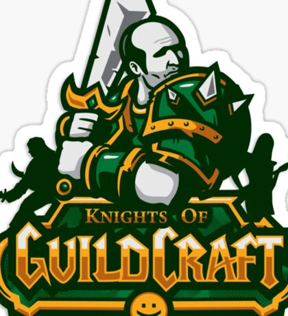 Knights of GuildCraft Sticker