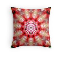 Hibiscus in motion Throw Pillow
