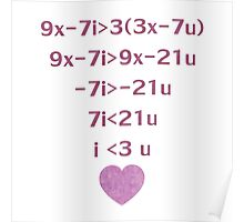 Equation Of My Heart Poster