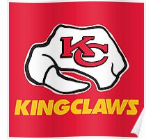 Kansas City Kingclaws (Red) Poster