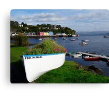 Tobermory, Isle of Mull Scotland Canvas Print