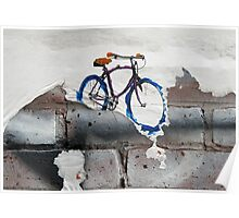 Paper Bicycle Poster