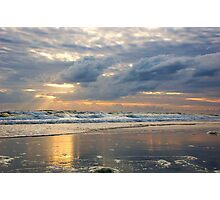 sun rays in Daytona Photographic Print