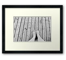 Stand Up. Framed Print