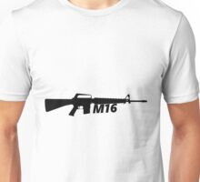 M16 Assault Rifle Unisex T-Shirt