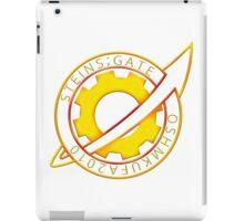 Steins;Gate Pin Badge iPad Case/Skin