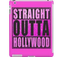 Straight Outta Hollywood Pink Glitter iPad Case/Skin