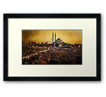 Istanbul Sunrise Framed Print