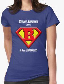 Bernie Sanders is a Superhero Womens Fitted T-Shirt