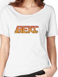 CSGO Pixel Series | REKT Women's Relaxed Fit T-Shirt