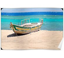 red sea boat Poster