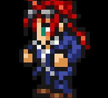 Reno (Turks) sprite - FFRK - Final Fantasy VII (FF7) by Deezer509