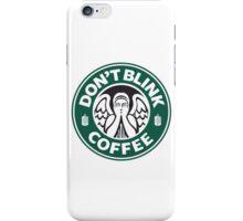Weeping Angel of Original Starbucks Logo iPhone Case/Skin