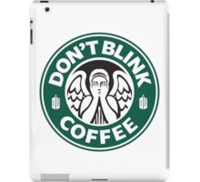 Weeping Angel of Original Starbucks Logo iPad Case/Skin