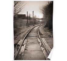 Railroad Blues Poster