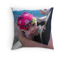 Silly expressions Throw Pillow