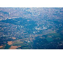 Brussels areal view, Belgium Photographic Print