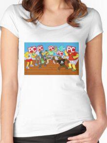 next gen gaming Women's Fitted Scoop T-Shirt