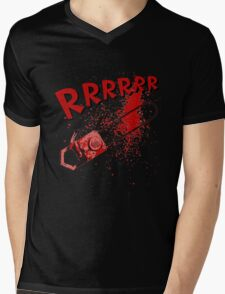 RRRRR Chainsaw Mens V-Neck T-Shirt