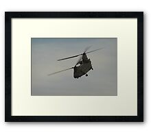 The work horse of military helicopters Framed Print