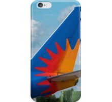 Jet2 Airlines Boeing 737 tail livery iPhone Case/Skin