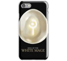 Soul of the White Mage -black iPhone Case/Skin