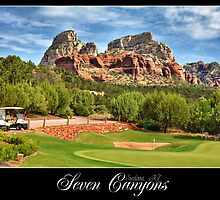 Seven Canyons Golf Course by Yasmin Simpson