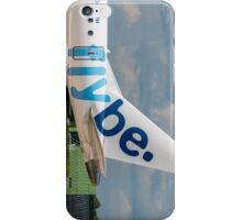 Flybe Embraer ERJ-175 tail livery iPhone Case/Skin