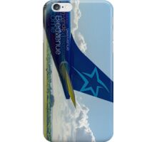 Air Transat Airbus A330 tail livery iPhone Case/Skin